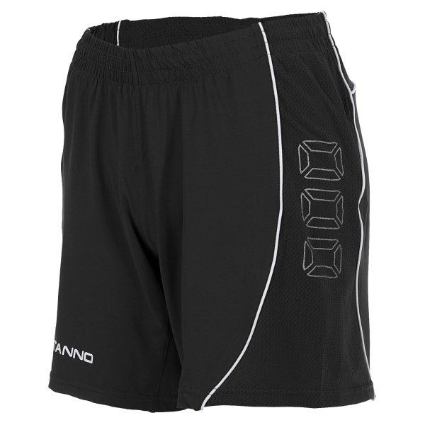 Stanno Toronto Black Football Shorts Ladies