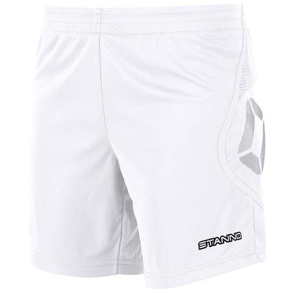 Stanno Pisa White Football Shorts Ladies