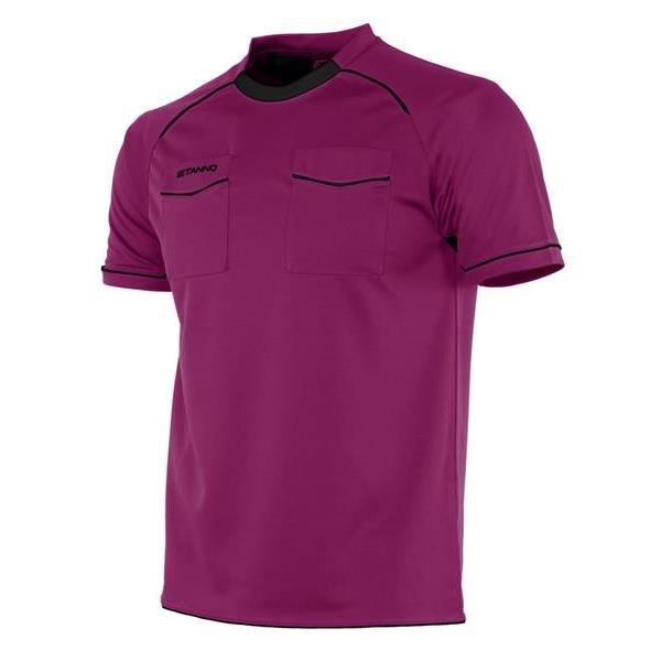 Stanno Bergamo SS Referee Fuchsia/Black Shirt