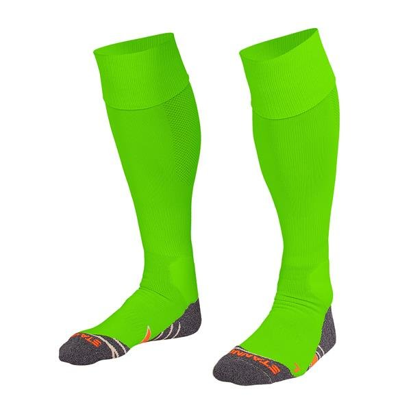 Stanno Uni Neon Green Football Socks