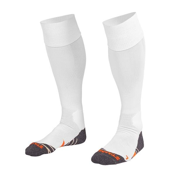 Stanno Uni White Football Socks