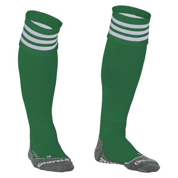 Stanno Ring Green/White Football Socks