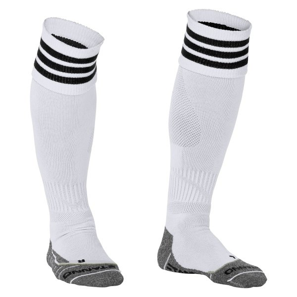 Stanno Ring White/Black Football Socks