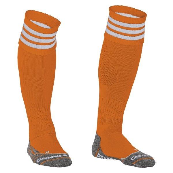 Stanno Ring Orange/White Football Socks