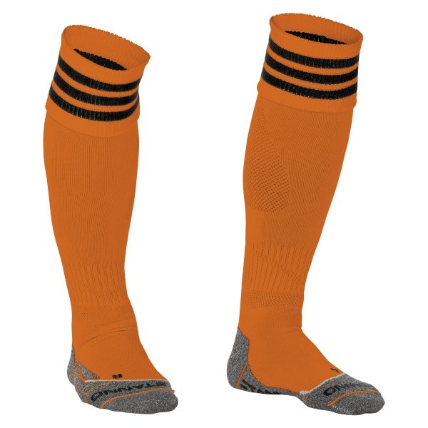 Stanno Ring Orange/Black Football Socks