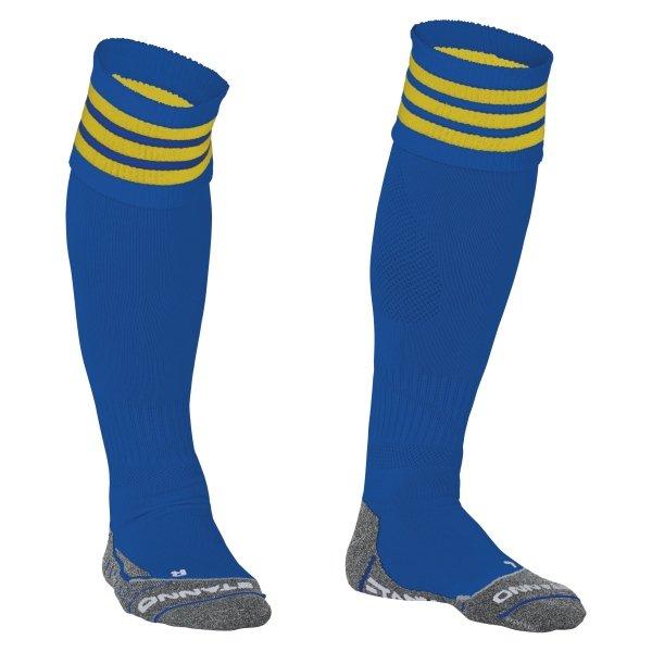 Stanno Ring Royal/Yellow Football Socks