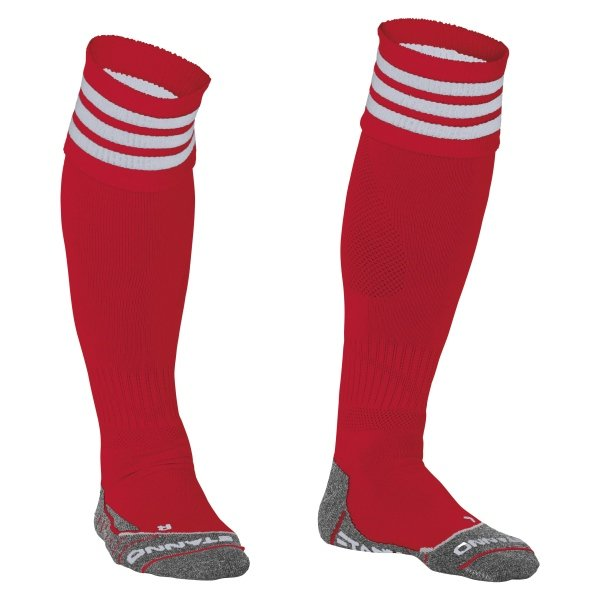 Stanno Ring Red/White Football Socks