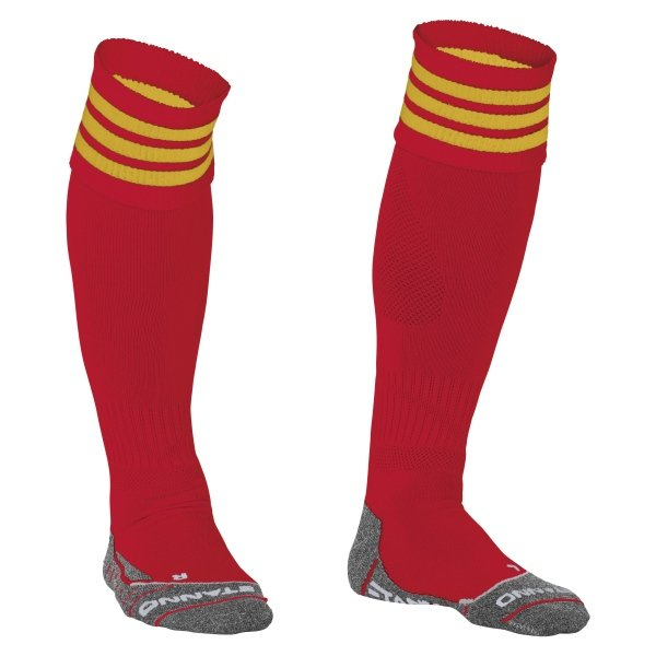 Stanno Ring Red/Yellow Football Socks