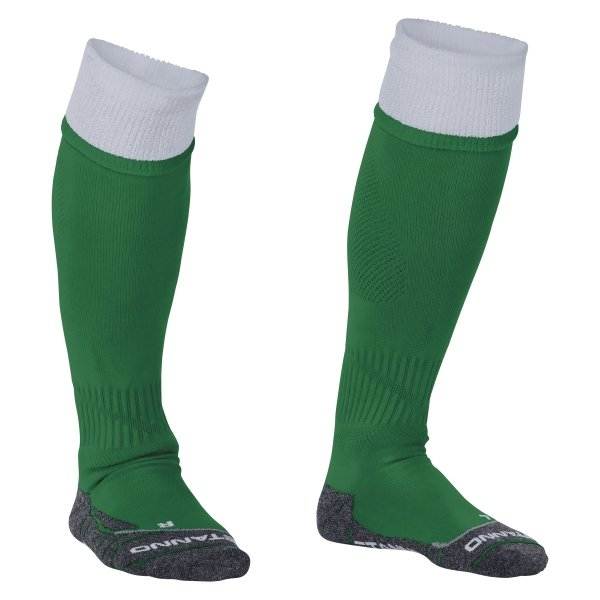 Stanno Combi Green/White Football Socks