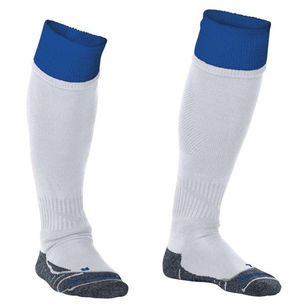 Stanno Combi White/Royal Football Socks