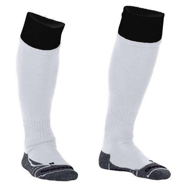Stanno Combi White/Black Football Socks