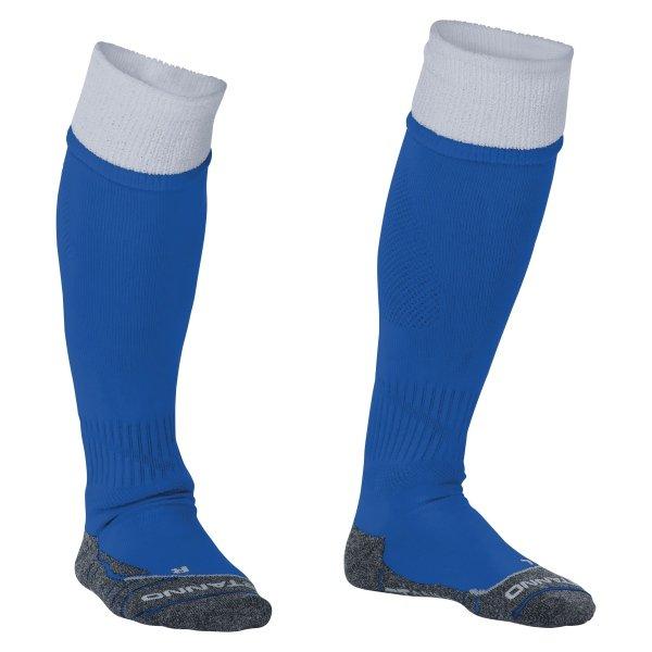 Stanno Combi Royal/White Football Socks