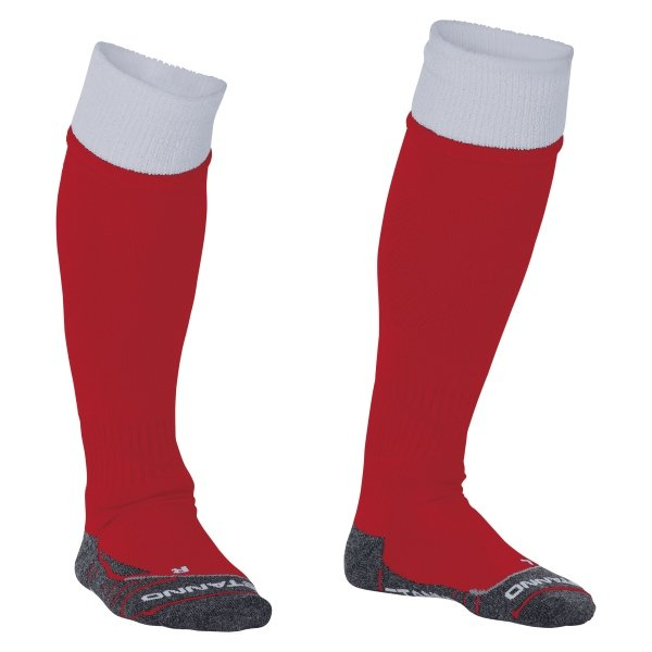 Stanno Combi Red/White Football Socks