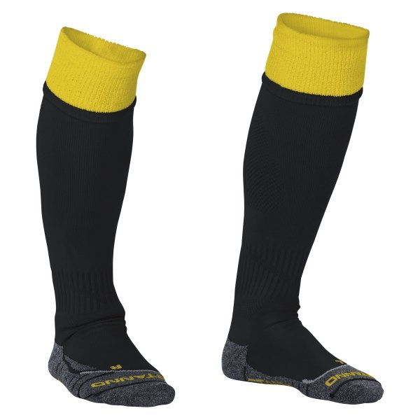 Stanno Combi Black/Yellow Football Socks
