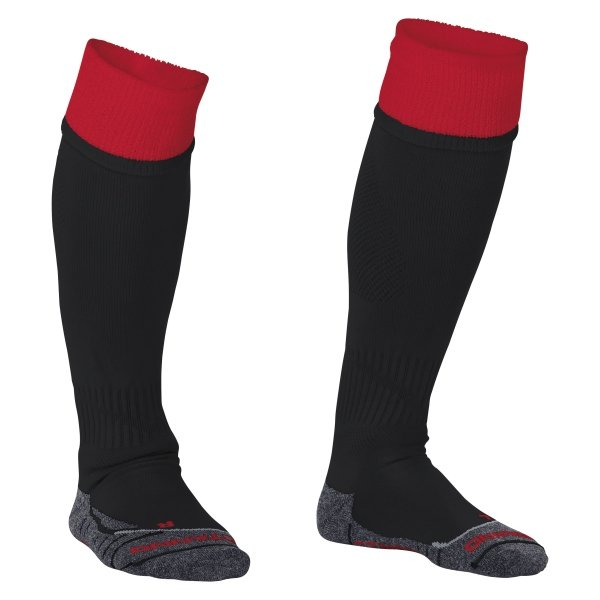 Stanno Combi Black/Red Football Socks