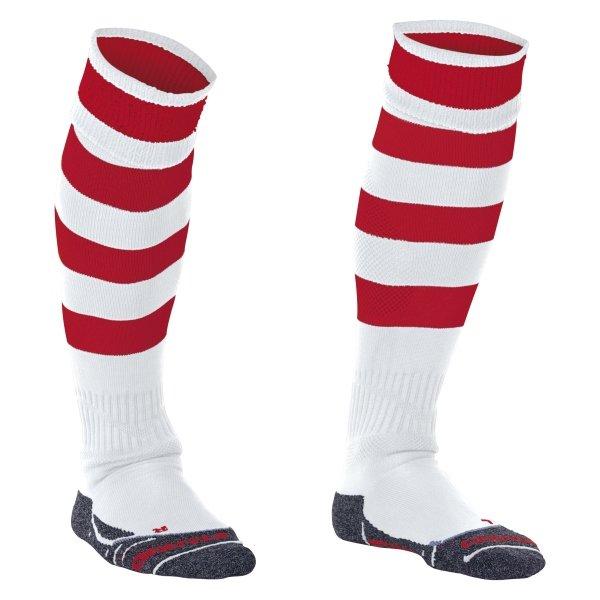 Stanno Original White/Red Football Socks