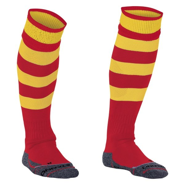 Stanno Original Red/Yellow Football Socks