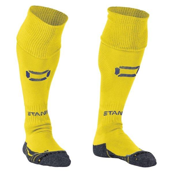 Stanno Porto Yellow/Royal Football Socks