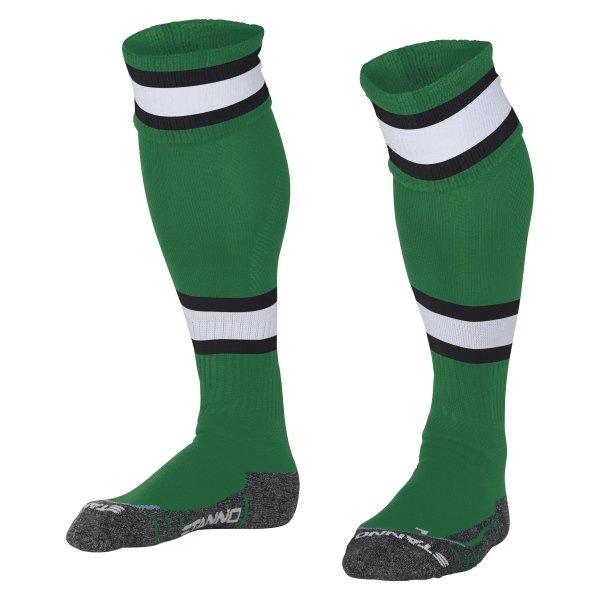 Stanno League Green/White Football Socks