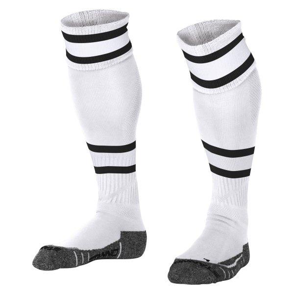 Stanno League White/Black Football Socks
