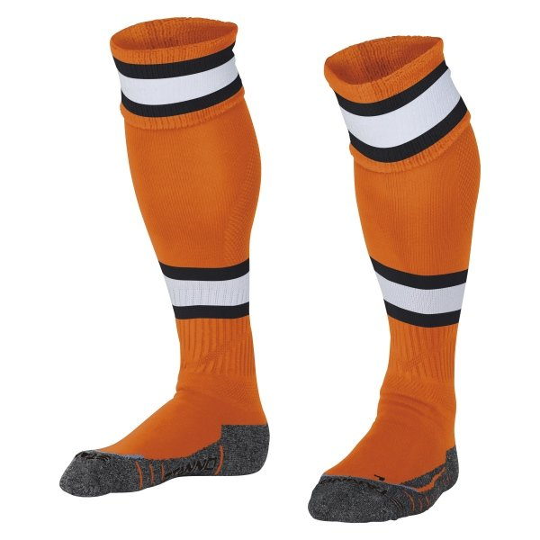 Stanno League Orange/White Football Socks