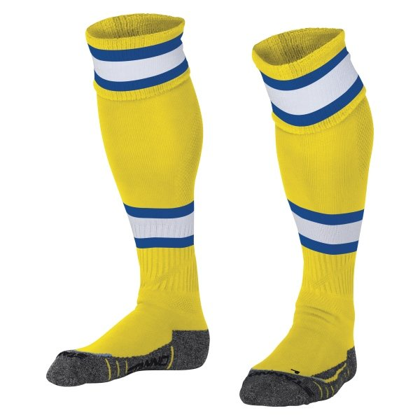 Stanno League Football Socks Yellow/royal