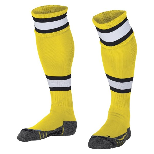 Stanno League Yellow/Black Football Socks