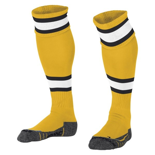 Stanno League Amber/White Football Socks