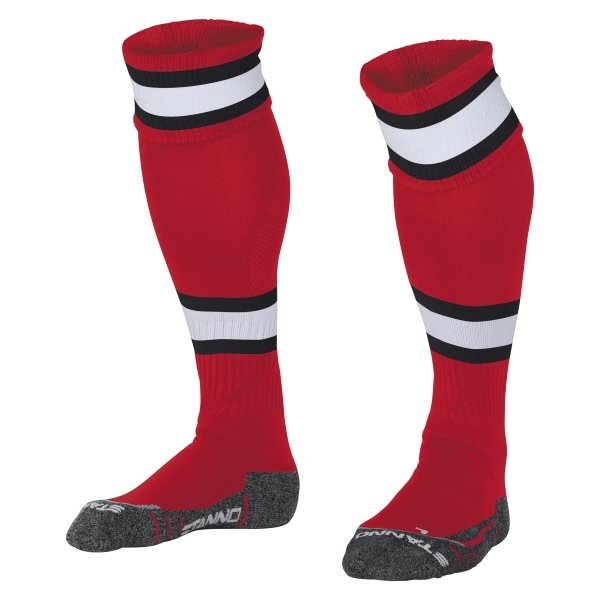 Stanno League Red/White Football Socks