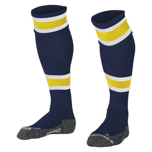 Stanno League Navy/Yellow Football Socks