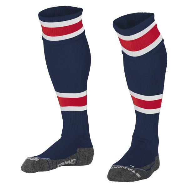 Stanno League Navy/Red Football Socks