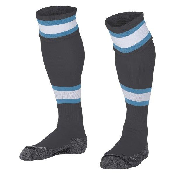 Stanno League Grey/Aqua Football Socks