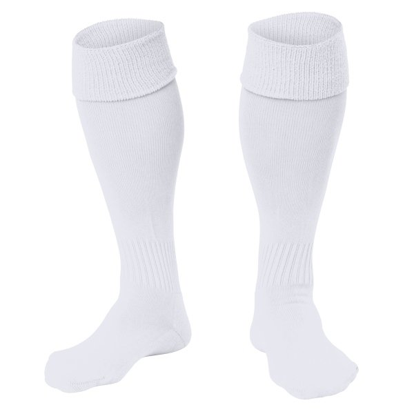 Stanno White Park Football Sock