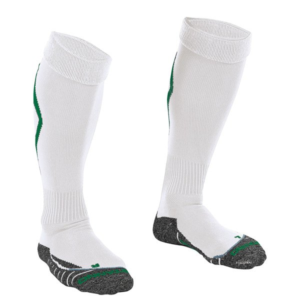 Stanno Forza White/Green Football Sock
