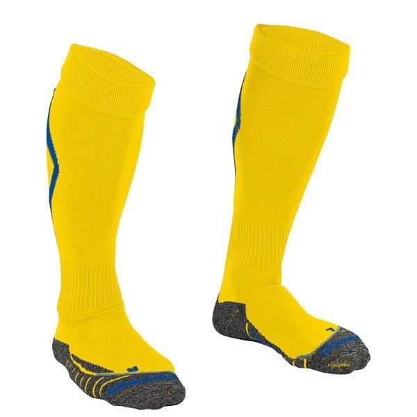 Stanno Forza Yellow/Royal Football Sock