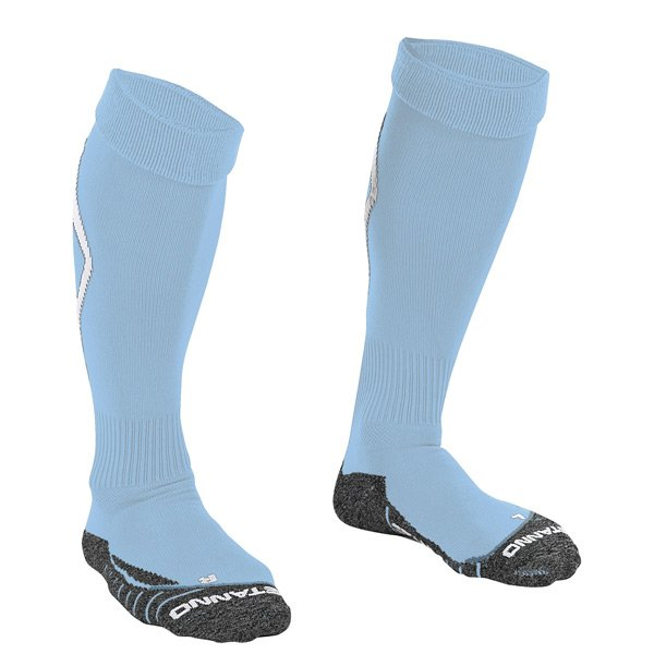 Stanno Forza Sky Blue/White Football Sock