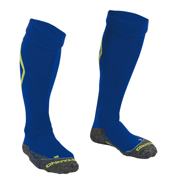 Stanno Forza Deep Blue/Neon Yellow Football Sock