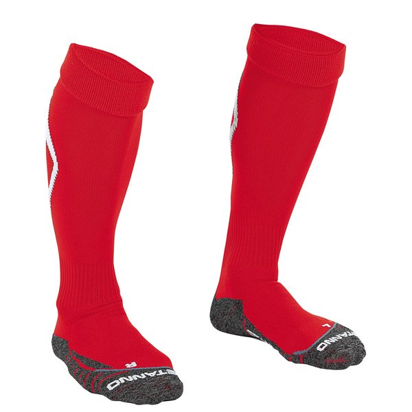 Stanno Forza Red/White Football Sock