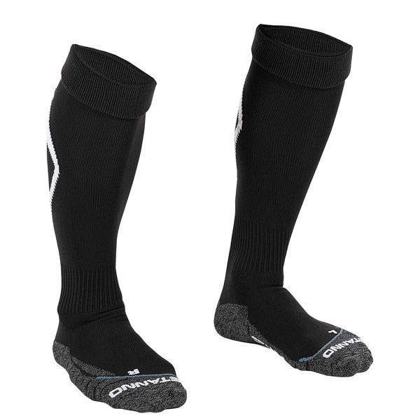 Stanno Forza Black/White Football Sock