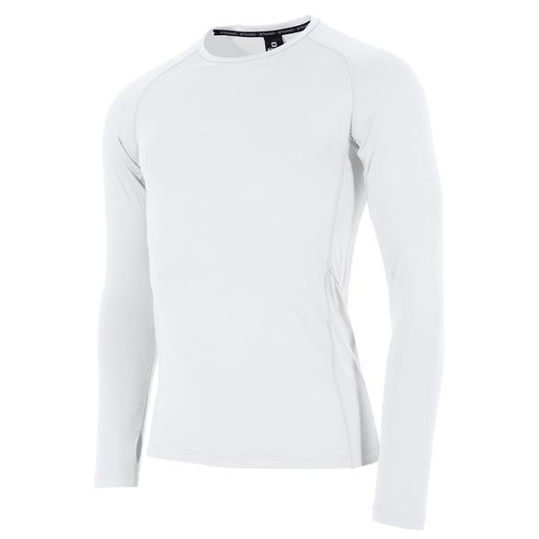 Stanno Short Sleeve White Thermal T-Shirt