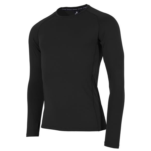 Stanno Short Sleeve Black Thermal T-Shirt
