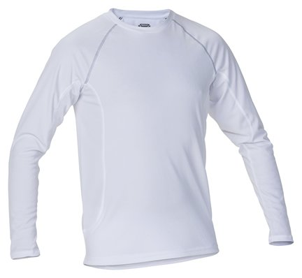 Stanno Long Sleeve White Thermal T-Shirt