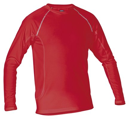Stanno Long Sleeve Red Thermal T-Shirt