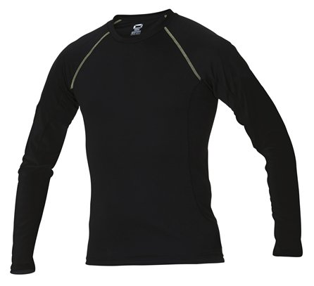 Stanno Long Sleeve Black Thermal T-Shirt