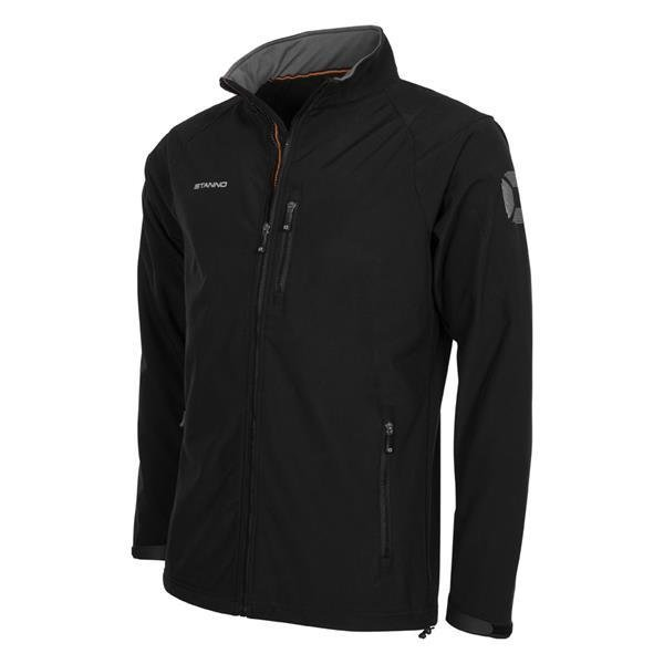 Stanno Centro Soft Shell Jacket Black
