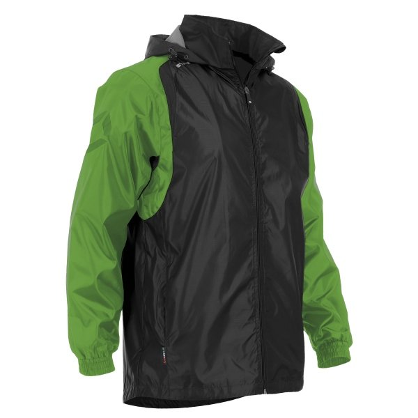Stanno Centro Windbreaker Black/Bright Green