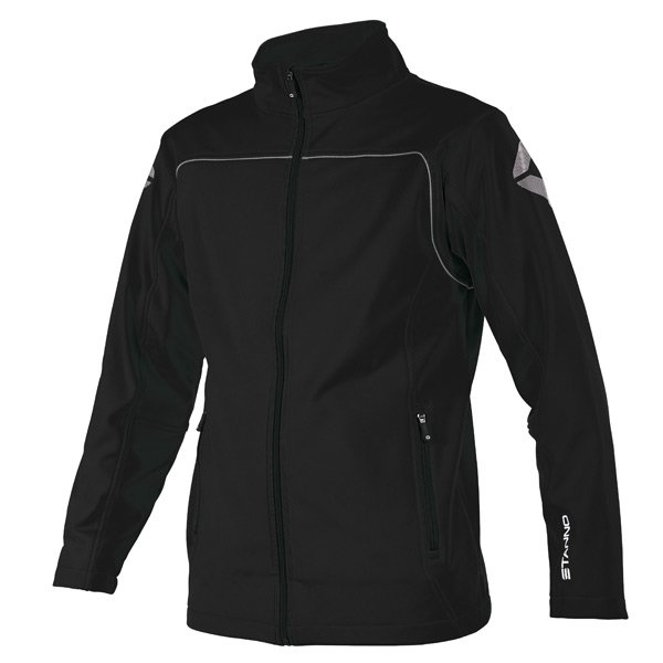 Stanno Corporate Black Soft Shell Jacket