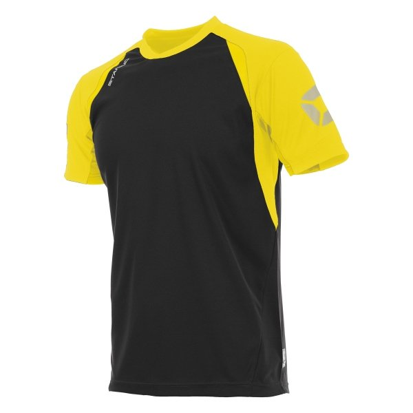 Stanno Riva T-Shirt Black/Yellow