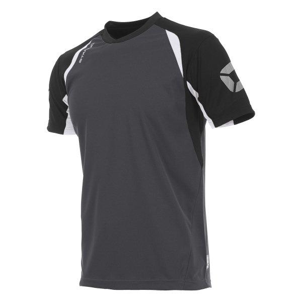 Stanno Riva T-Shirt Anthracite/Black