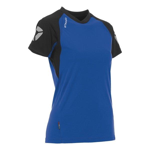 Stanno Riva T-Shirt Royal/Black Ladies